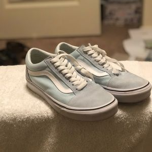 Baby Blue Old Skools